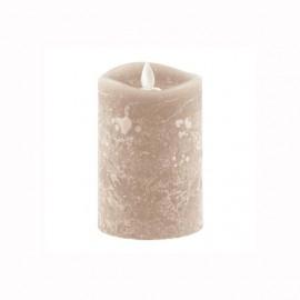 Aroma Led Pillar Candle Artisan Ivory 13cm