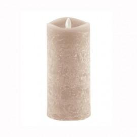 Aroma Led Pillar Candle Artisan Ivory 18cm