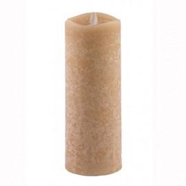 Aroma Led Pillar Candle Honey 23cm