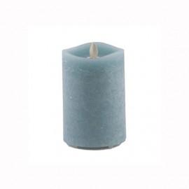 Aroma Led Pillar Candle Artisan Navy 13cm
