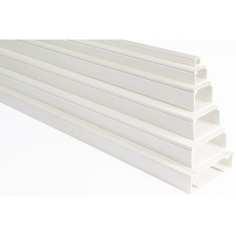 Cable Trunking 20x10mm White Courbi