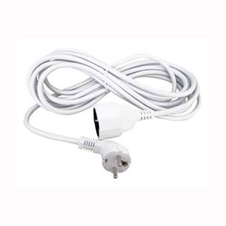 Extension Cord for Socket Plug 3m White