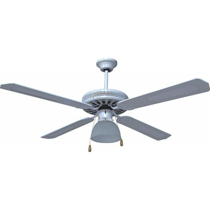 Ceiling Fan with 1 Light 70W White (1138)