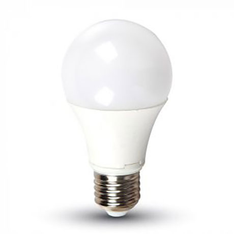 LED Lamp E27 A60 9W Cool White 6400K