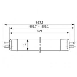Fluorine Lamp T5 21W/865 General Electric