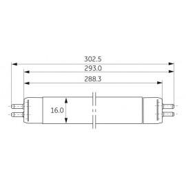 Fluorine Lamp T5 8W/840 General Electric