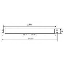 Λάμπα Φθορίου T8 36W/860 General Electric