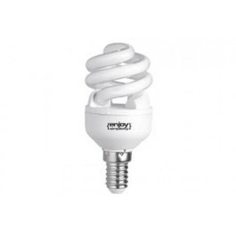 Energy Saving Lamp Spiral E14 11W Warm White (2700K)